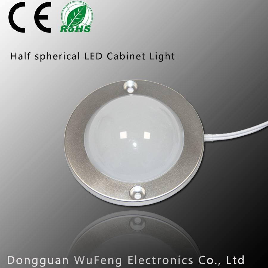 CE Certification Half spherical LED Cabinet Light