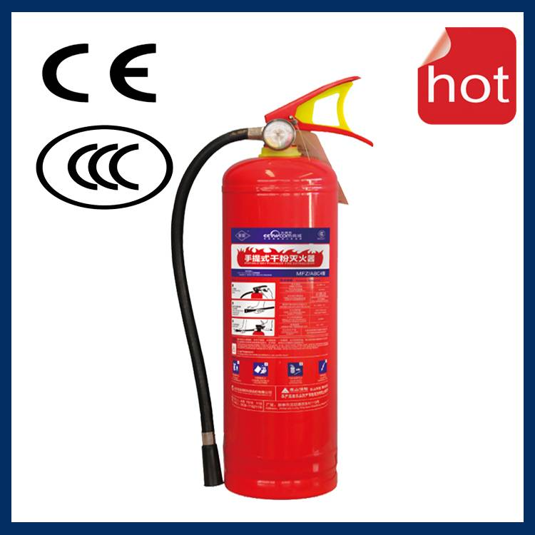 High Pressure Backpack Water Mist Fire Extinguisher
