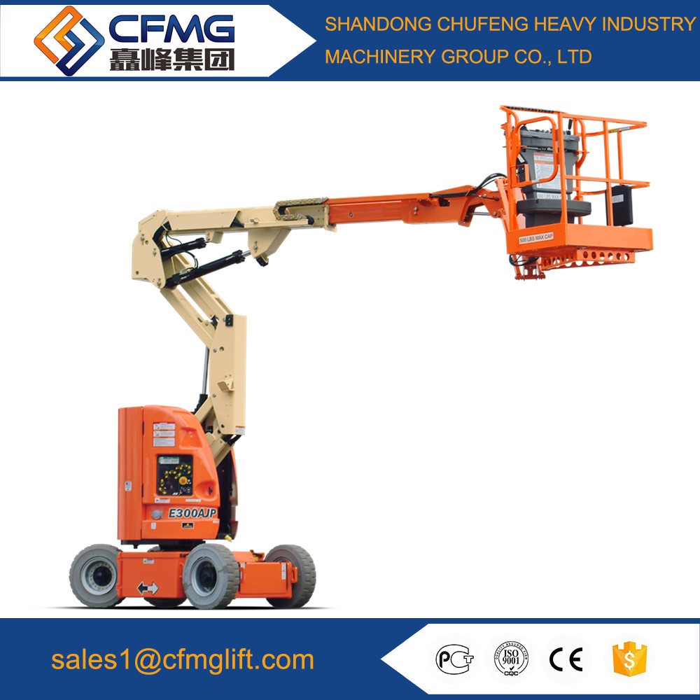 hydraulic boom lift self-propelled articulating boom lift mobile boom lift