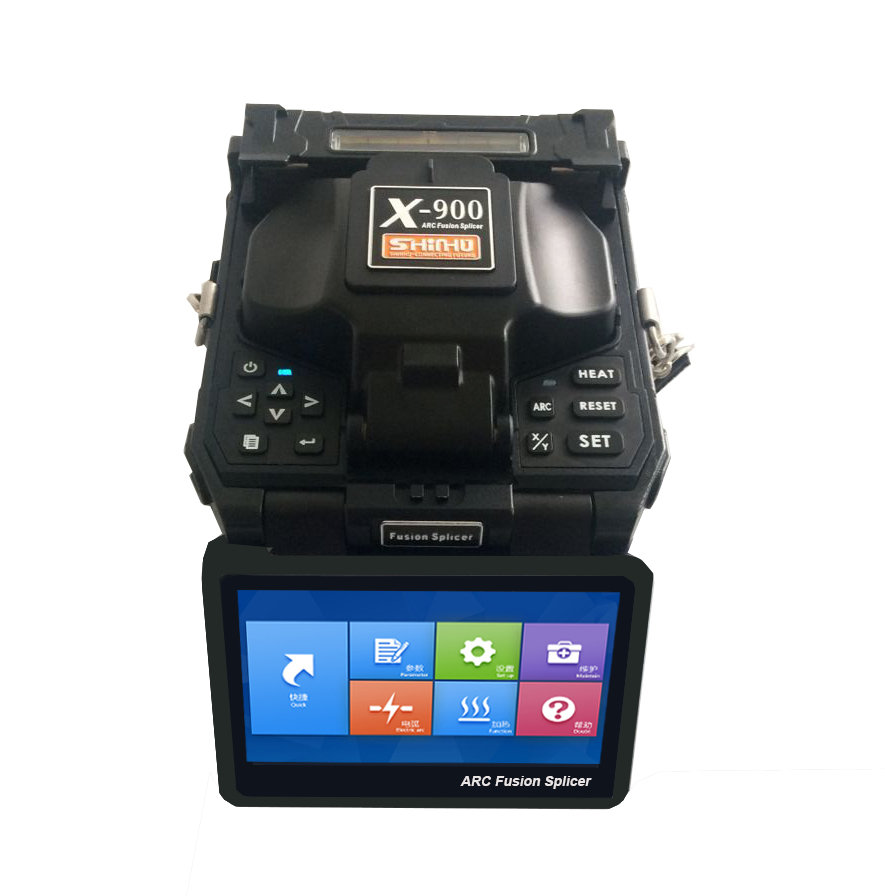 Core To Core Alignment 6 motors Fiber Fusion Splicer X900