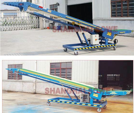 SVMVL5-Roller Platform Movable Van Loader