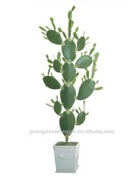 Artificial green color cactus/fake cactus