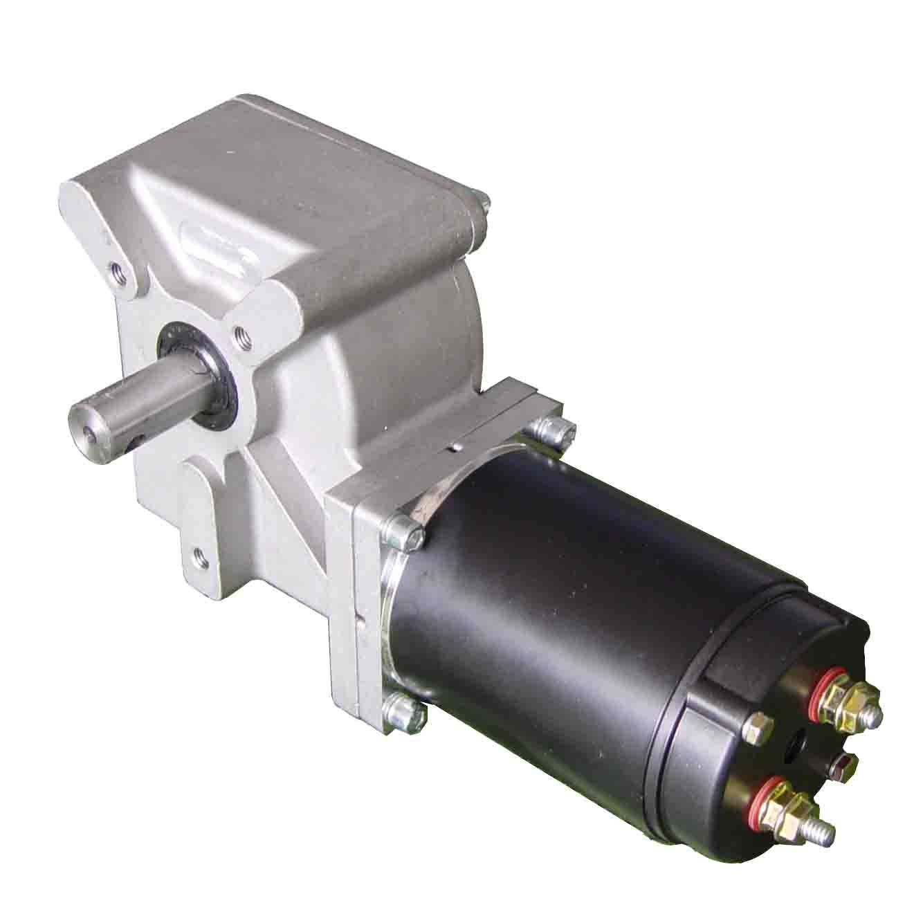 Right Angle Permanent DC Gear Motor