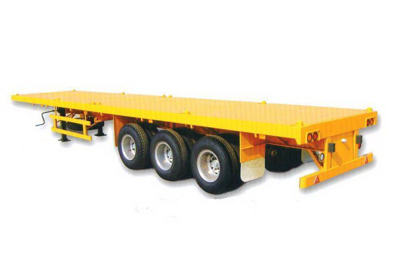 flat bed semi trailer