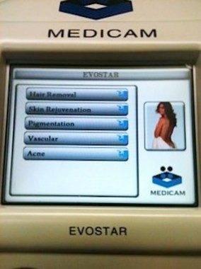 Corporam/Medicam Evostar 7 IPL Laser