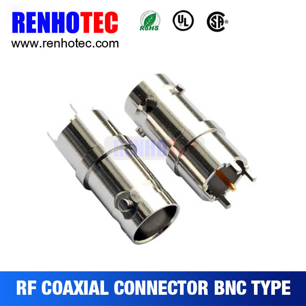 BNC jack/female for cable,PCB mount