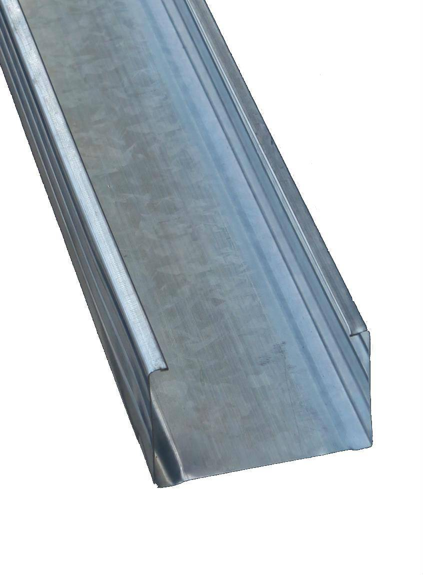 various type of light steel profile for ceiling and furniture