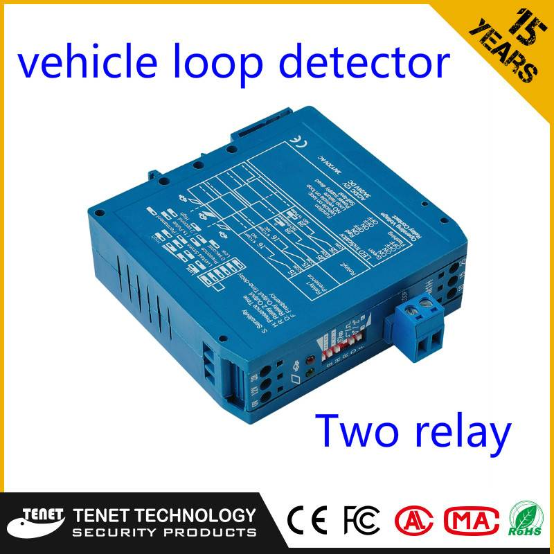 Auto Parking Induction Loop Controller Parking Sensor For Car Park Access Control