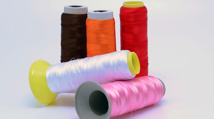 100% polyester ring spun yarn