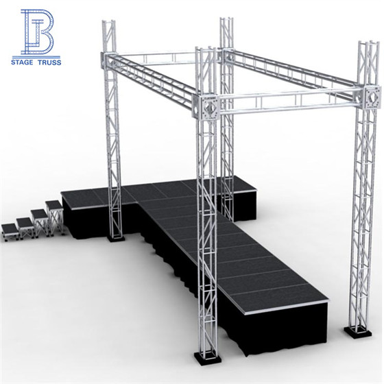 TUV Certified Heavy Loading Outdoor Concert Screw Truss Stage/Truss Aluminium/Event Lighting Truss