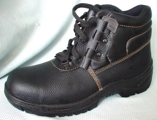 Steel Toe Industrial Working Shoes with Lace