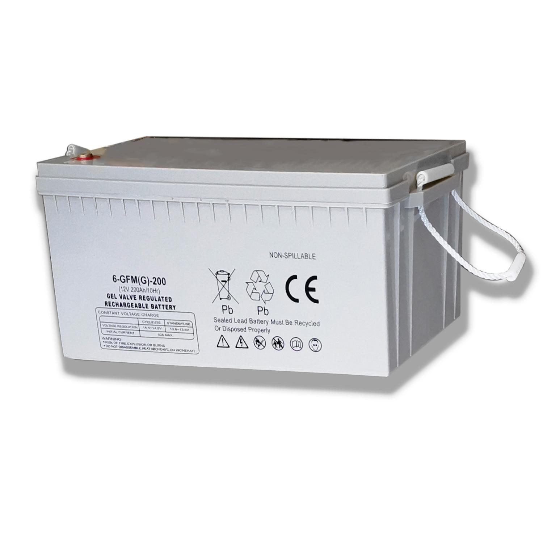 Deep Cycle Lead Acid GEL Solar Battery 12V 100ah 150ah 200ah For Solar Energy Storage