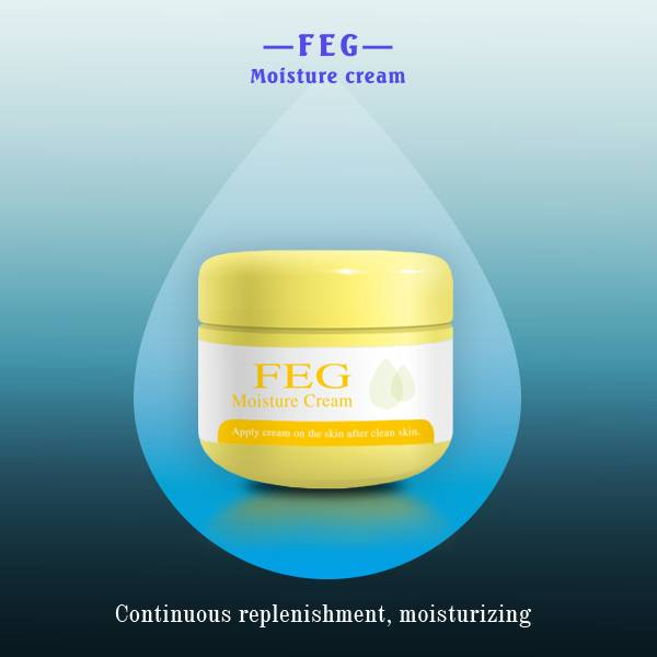 Natural herbal extracts FEG Moisturizing Whitening Face Care Cream