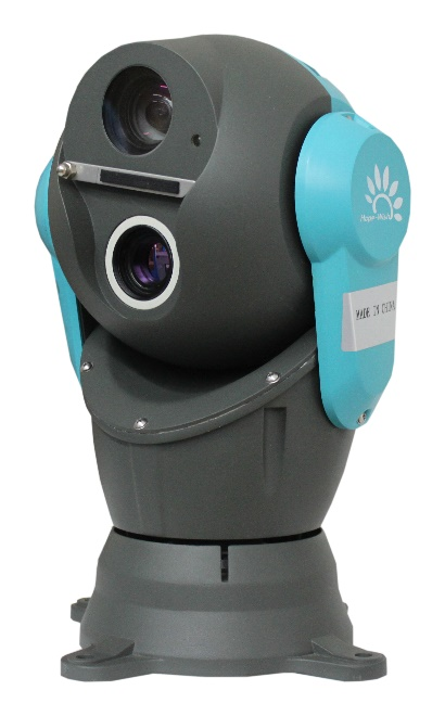 Vehicle-Mounted Dome Thermal PTZ Imaging Security Camera