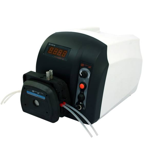 BT101S peristaltic pump with speed control and ABS housing