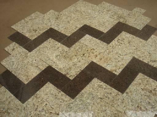 G682 Chinese rusty granite tiles