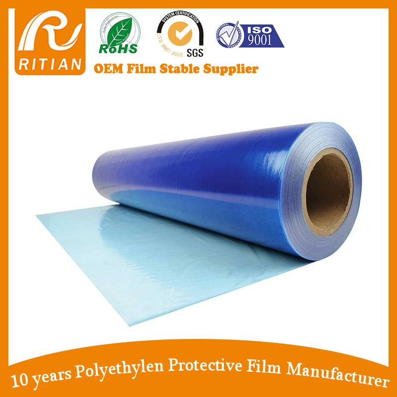 Pe Blue Protective Film