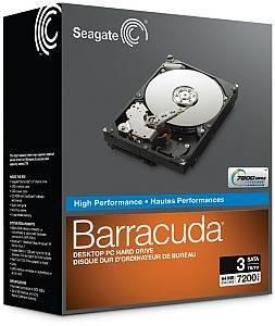 "Seagate Barracuda 3.5"" Retail Kit SATA 2TB Internal Hard Drive Disk"