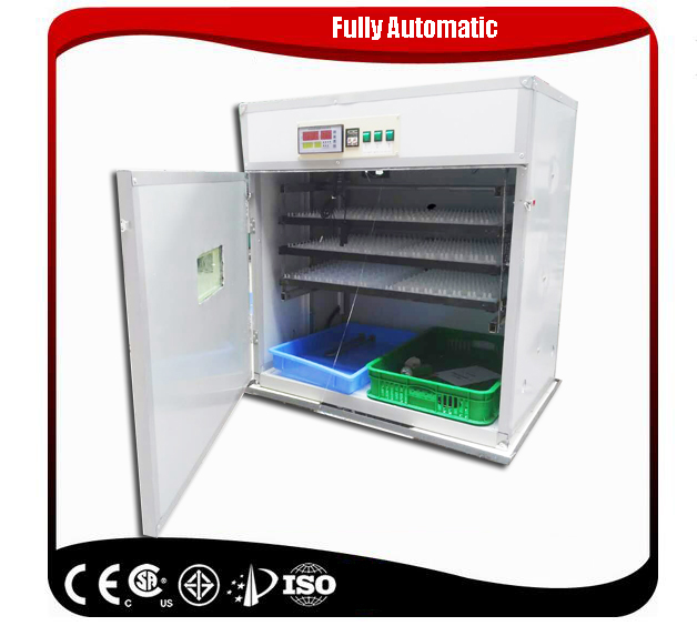 Full Automatic Egg Incubator and Hatcher for 528 Chicken Eggs