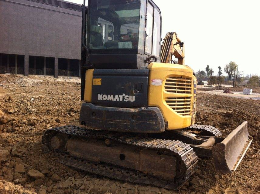 Used Japan Original Komatsu PC50 Crawler Excavator