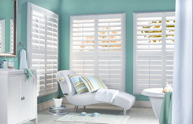 Window Louver Plantation wood Basswood Timber Shutters