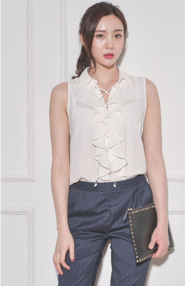 High fashion luxury fashion stylish Women Blouse for ladies