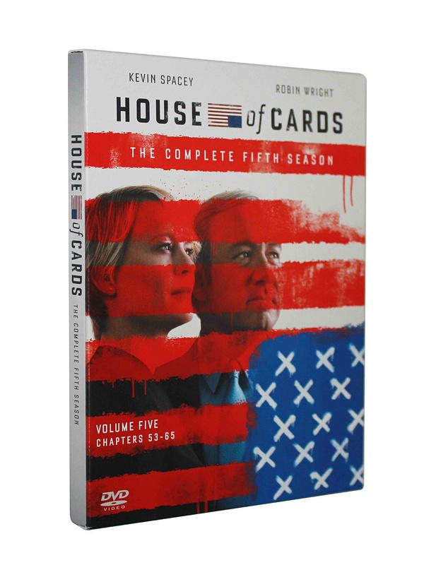 House of Cards seasons 5 DVD Boxset