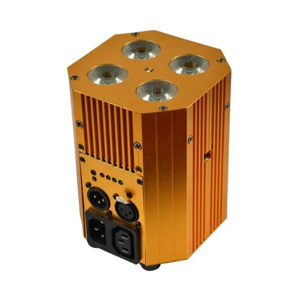 Mini 4X8W 4IN1 RGBW Battery Powered Wireless Uplight