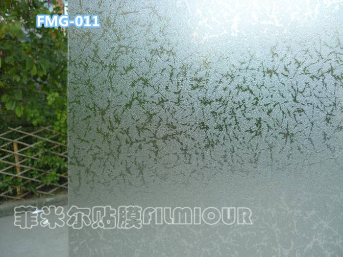 Window Decorative film FMG-011(no glue, static cling)
