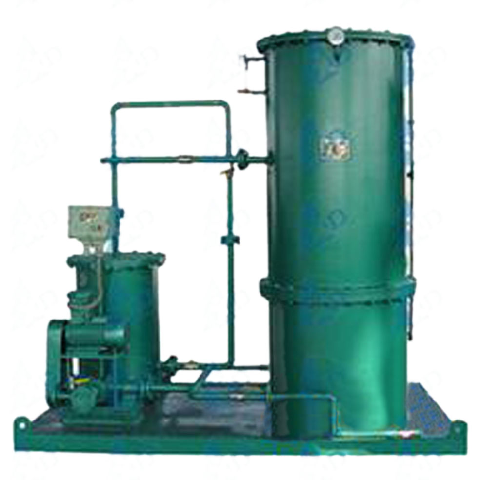 LYSF-1-10T/H oil water separator, oily wastewater separator, industrial oil water separator