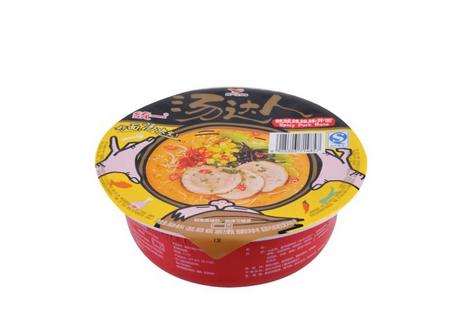 Instant noodle bowl Aluminum Foil Lid