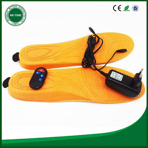 facotory branded heat insole rechargeable