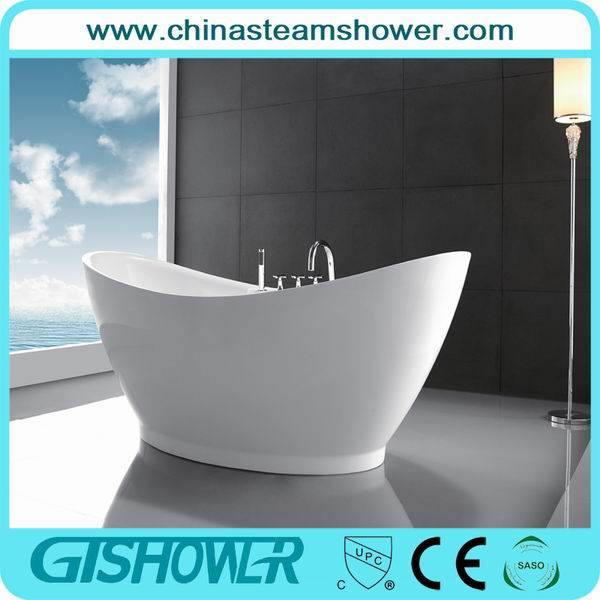 Freestanding Acrilic Bathtub with Brass Faucet (KF-720A)