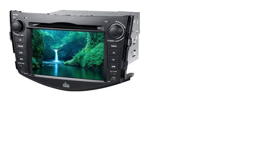 7.0 inch Car GPS DVD Player RAV4(Digital screen)