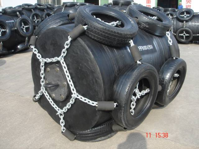 pneumatic rubber fender for dock and boat