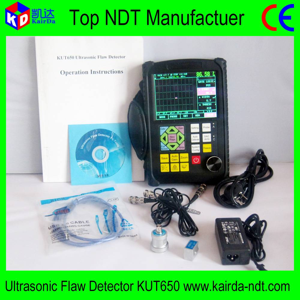 China Manufacturer Ultrasonic Flaw Detector