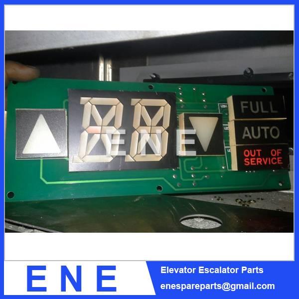 HYUNDAI ELEVATOR BOARD INDICATOR PCB 262C065