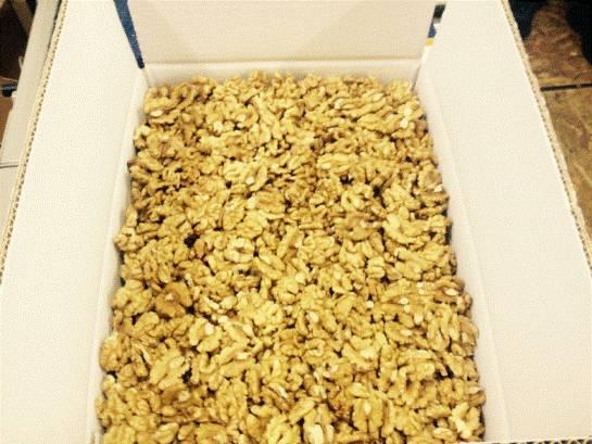 Walnuts Kernel Organic: Extra Light, Class I. Wholesale. Orign Ukraine.