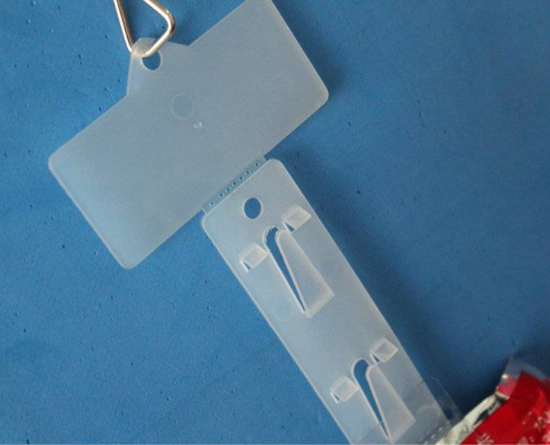 supplying PP plastic clip strips for surpermarket use