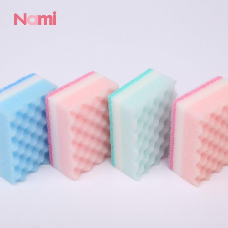 Nylon Dish Scouring Pad Remove Oil Polyester Fiber Non Scratch Scouring Pad