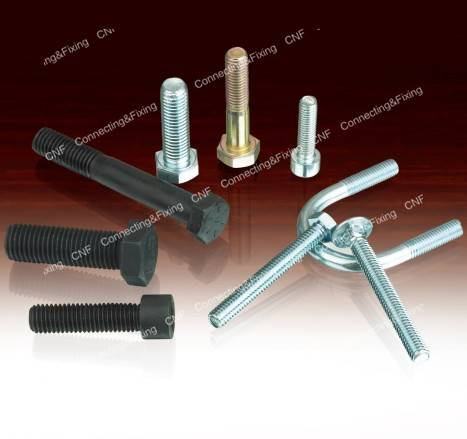 Automobile bolts/Cap screws/Hex bolts/Carriage bolts/Guardrail bolt/Elevator bolts/Flange bolt