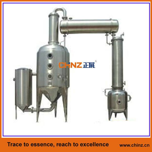 Single-effect outer circulation concentrator