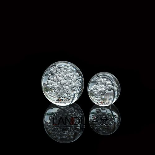 High quality transparent acrylic round bubble balls