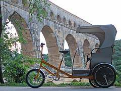 Electric Passenger Pedicab Rickshaw