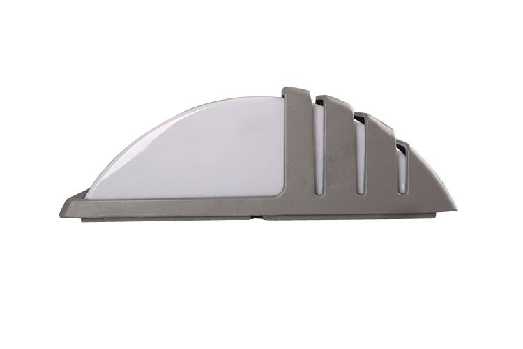 LED wall pack light with motion sensor dimmable white housing IK10 factory price