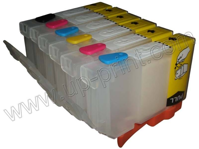 printer consumablesRefillable ink cartridge for Canon BCI-6 & CLI-8
