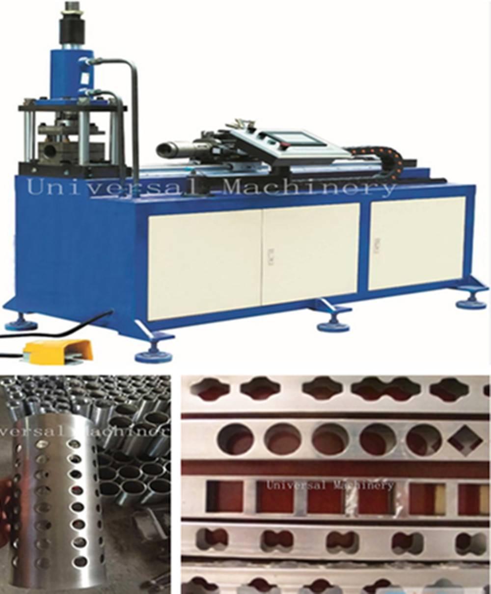 China Low price automatic Pipe Hole Punching Machine