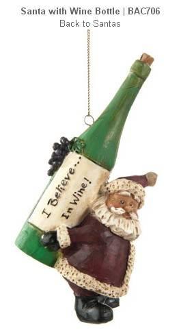 Polyresin Christmas hanging ornament