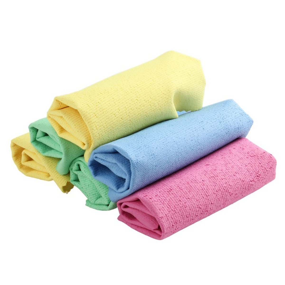 Microfiber Dust Cleaning Towels Terry Cloth With PU Coating for Kitchen Dish Cloth
