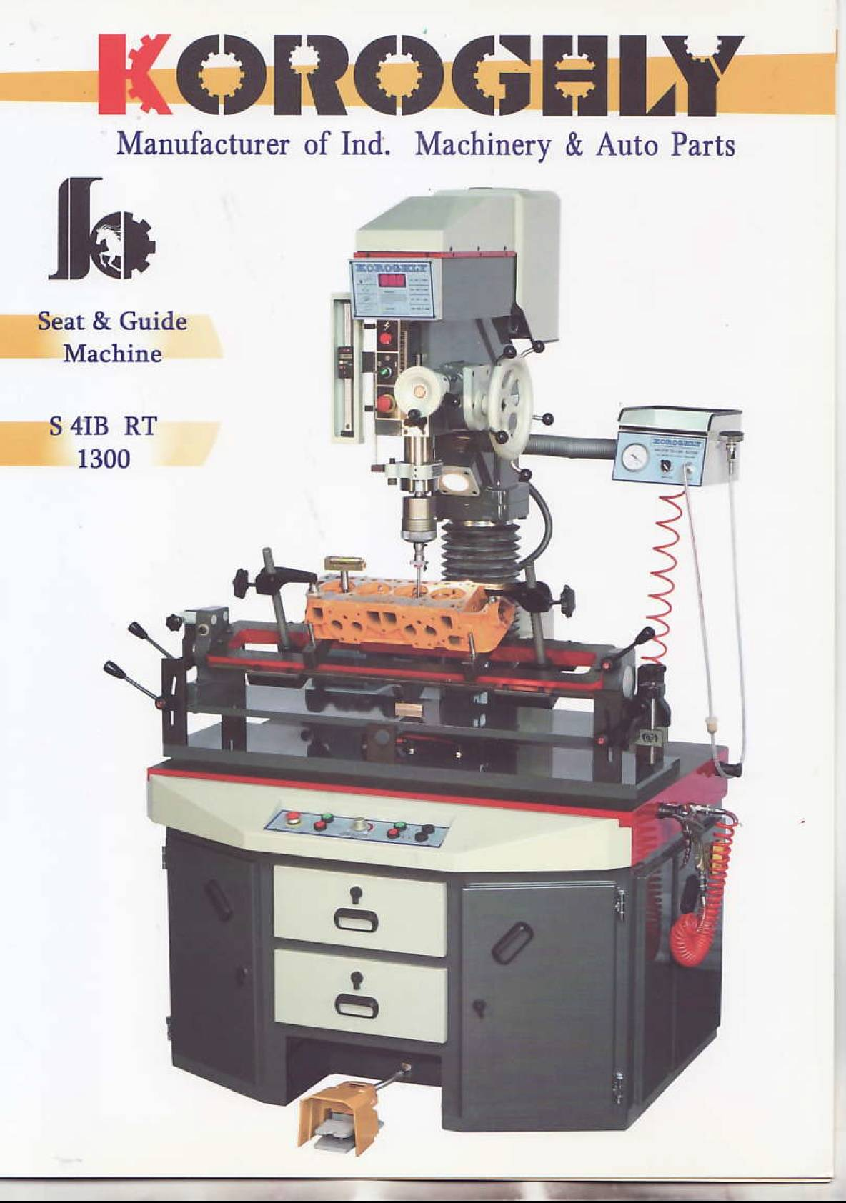 valve seat& Guide machine